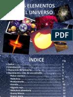 Elementos Del Universo