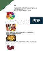 Alimentos Con Colorantes