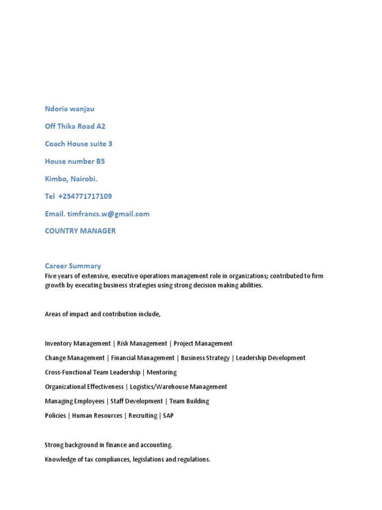 Enchanting Country Estate Management Lebenslauf Gift - FORTSETZUNG ...