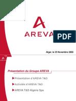 AREVA ALGERIE 2008.ppt