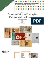 OBservatorio de Educação Patrimonial