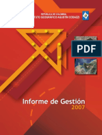 Informe Gestion 2007