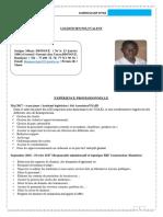 Cv Serigne Mbaye