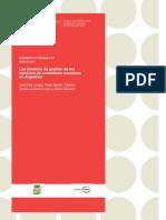 CIPECC121 DT Proteccion Social y Educacion, Los Modelos de Gestión de Los Servicios de Comedores Escolares en La Argentina