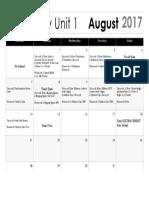 geometry calendar 2017