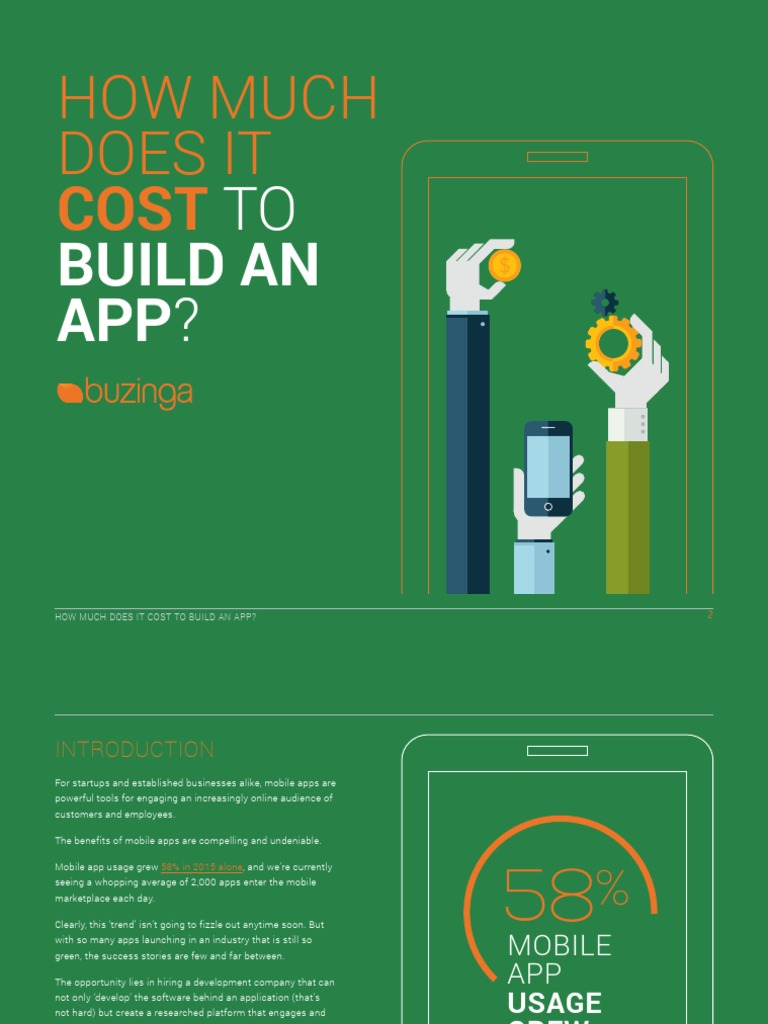 How Much Does It Cost to Build an App | Mobile App ...