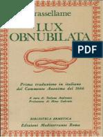 eBook Alchimia ITA Crassellame Lux Obnubilata
