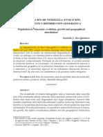 La poblacion de Venezuela evolucion.pdf