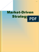 Market Driven Strategies
