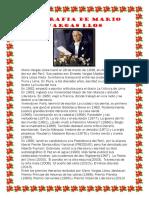 Biografia de Mario Vargas Llosa