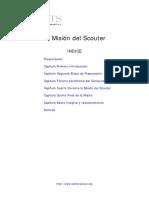 Mision Del Scouter