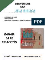 Rahab La Fe en Acción Normal