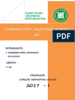 2do Laboratorio Calificado