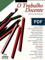 Livro _ Trabalho Docente - Teoria e Prática