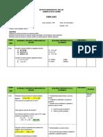 Plan de Clase Resta Notacion Cientifica