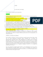 Requisitos - Documentos Alta en Imss