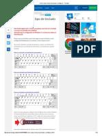 Cómo Saber El Tipo de Teclado a Configurar (Español)