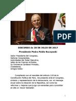 Discurso PPK 28.07.2017