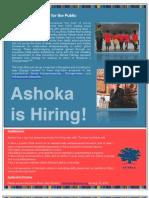 Ashoka Hiring Blore July10