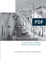 Smolka 2003, Perspectivas Urbanas