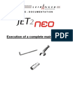 Service Documentation Execution Complete Maintenance JET2neo En