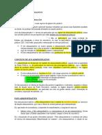 Direito Administrativo - Atos Administrativos