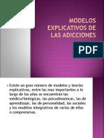 Modelos Explicativos de Las Adicciones