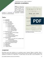 Historia del pensamiento económico por Wikipedia