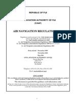 Air Navigation Regulation 1981 Updated 25.05.2016
