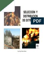 Selección y Distribución de Extintores