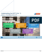 Implementing the MYP (Cat 1) - Module 1 - Download Notes