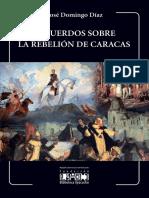 Recuerdos de la rebelión de Caracas