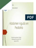 Abd Agudo Pediatria