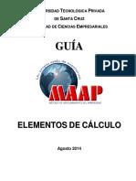 Guia Elementos de Calculo 2014