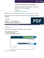 Manual Basico de Edicion Plataforma