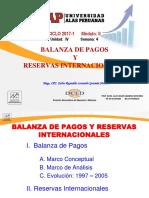 Semana 04 - Balanza de Pagos y Reservas Internacionales