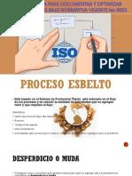 Metodologia Para Documentar y Optimizar Procedimientos Bajo Normativa