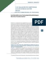 Modelos de Evaluación Por Competencias a Través de Un Sistema de Gestión de Aprendizaje