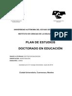 Doctorado en Educacion Plan
