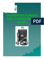 Catalogo de Analizador de Combustion Pca