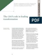 Artículo - The CEOs role in leading transformation.pdf