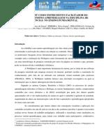 A Webquest Como Instrumento Facilitador Do Processo Ensino-Aprendizagem