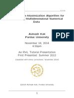 jugkjhkje- Expectation-Maximization Algorithm