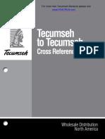 Tecumseh to Tecumseh Cross Ref