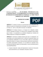 Pl 158-16 Fundacion de Risaralda