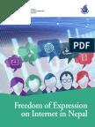 Nepal Freedom Expression Internet Freedomforum