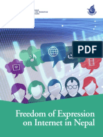 Nepal Freedom Expression Internet Freedomforum