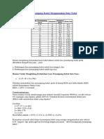 Menghitung Luas Penampang Kabel Menggunakan Data Tabel