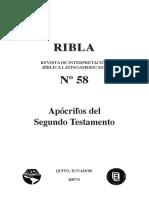 M. A. Marques, Evangelio (Copto) de Tomás, RIBLA 58 (2007), pp. 15-25copia