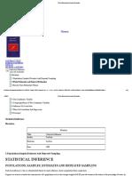 Iim Point Estimation and Interval Estimation